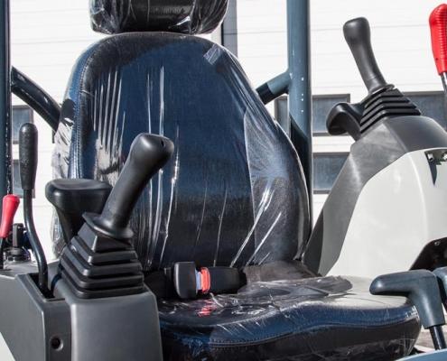 Atlas Minigraver AC 18UB stoel zitting