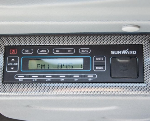 Atlas minigraver AC 25B radio